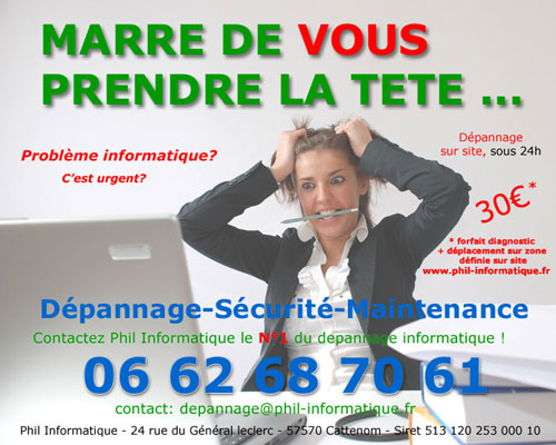 maintenance informatique Frisange